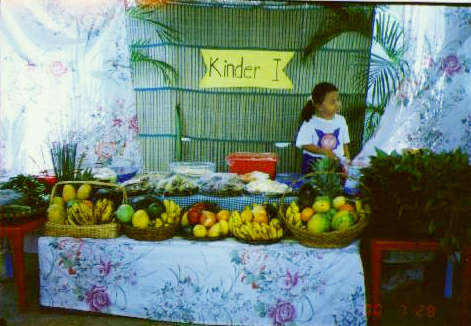 Go, Grow, and Glow foods from Kinder I Department.
